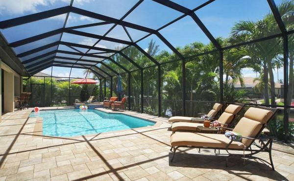 Ferienhaus in Cape Coral mit Pool