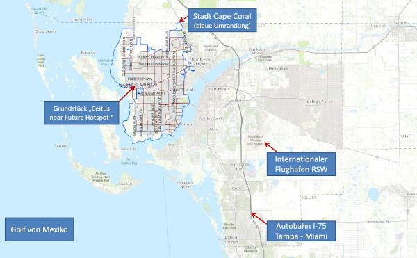 Cape Coral, Florida – Grundstücke am Ceitus Parkway