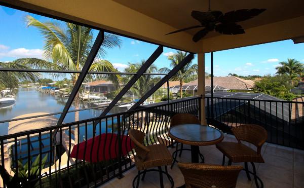 Balkon der Cape Coral Villa