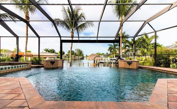 Cape Coral, Villa mit Pool