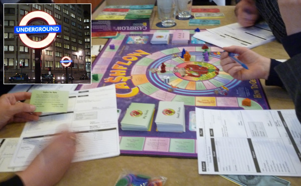 Cashflow Spiel in London