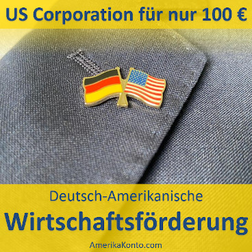 Wirtschaftsförderung: US-Corporation für 100 €