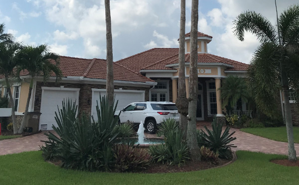Empfangshaus in Cape Coral