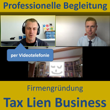 Firmengründung: Tax-Lien-Business