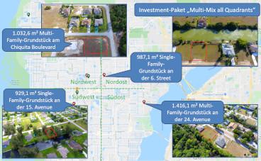 Investment-Pakete Grundstücke Florida