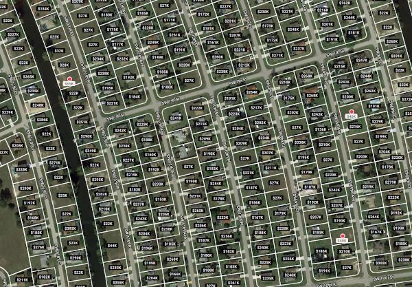 Grundstücke in der Wasseranschlusszone 2015