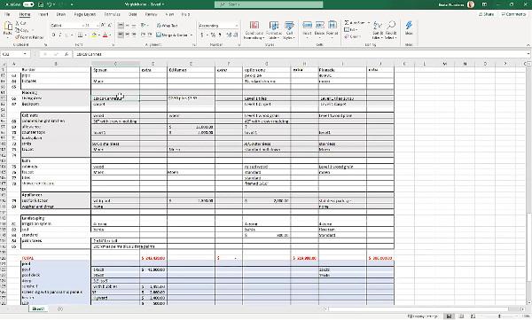 Excel-Tool für Immobilien