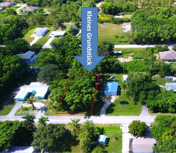 Kleines Grundstück auf Pine Island in Florida