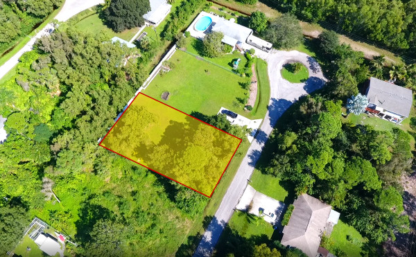 Luftaufnahme Pine Island Lot
