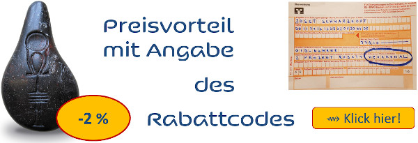 Rabattcode für Stein der Harmonie