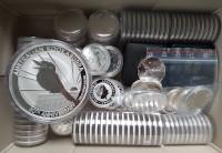 Silbermünzen für Kinder