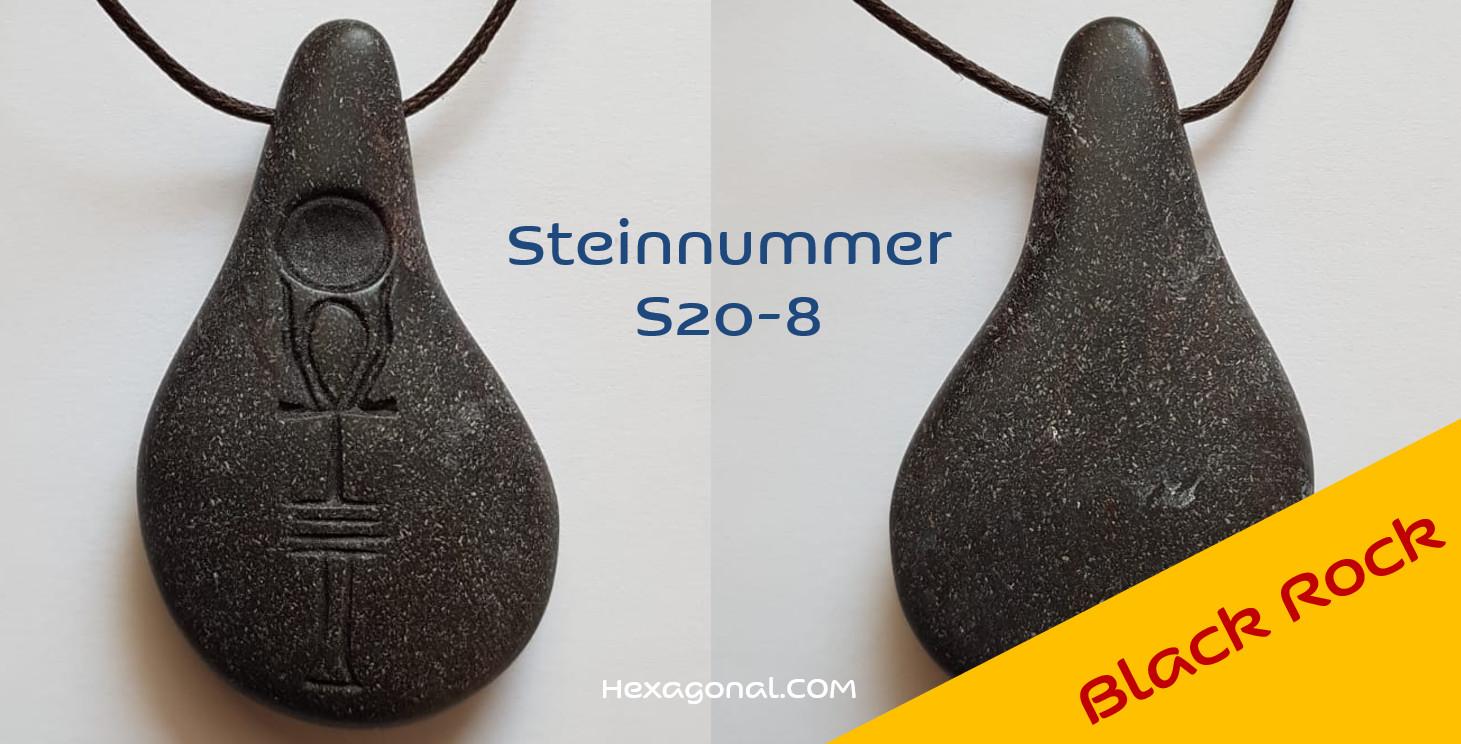 Stein der Harmonie black rock
