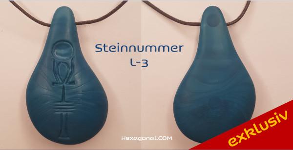 Stein der Harmonie dezent blau L3