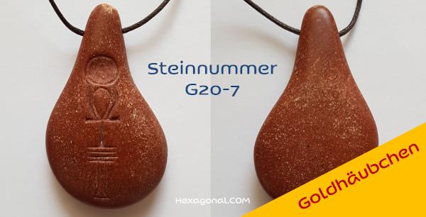 Stein der Harmonie Goldhäubchen G7