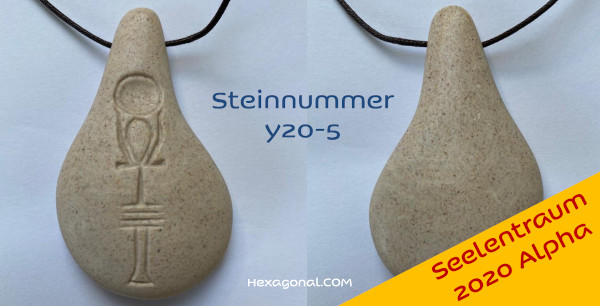 Stein der Harmonie Weiss Seelentraum 2020