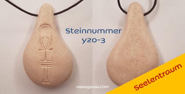 Stein der Harmonie Weiss Seelentraum