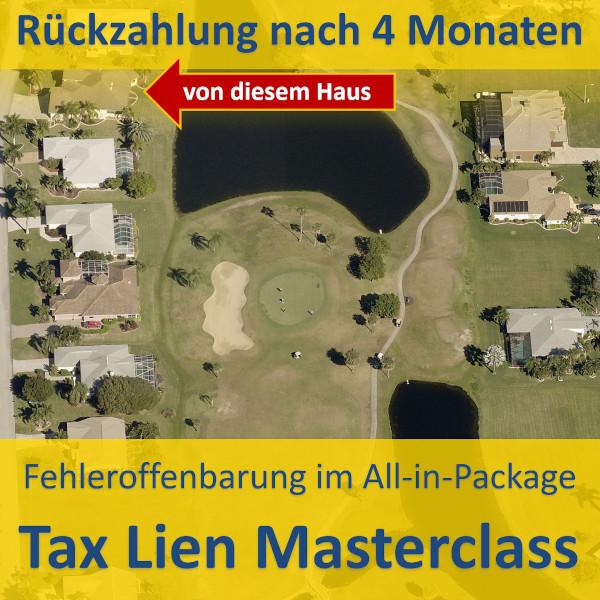 Tax Lien Fehler