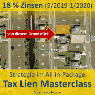 Tax-Lien-Masterclass: 18 % Zinsen
