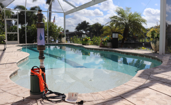 Wasserstruktur Pool