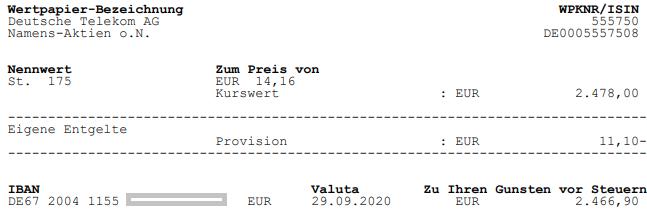 Aktienverkauf Deutsche Telekom