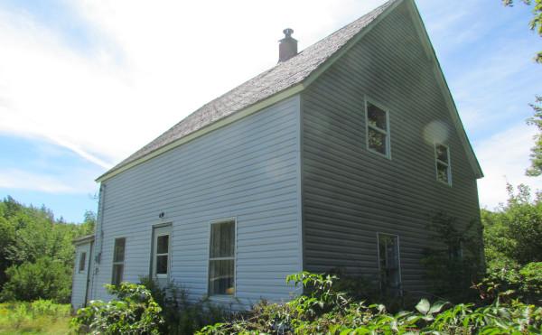Alte Farm auf Cape Breton