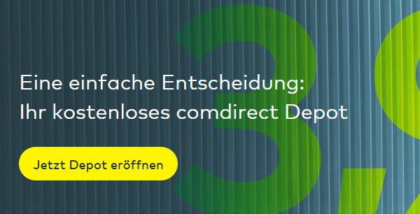 Comdirect-Depot noch eröffnen
