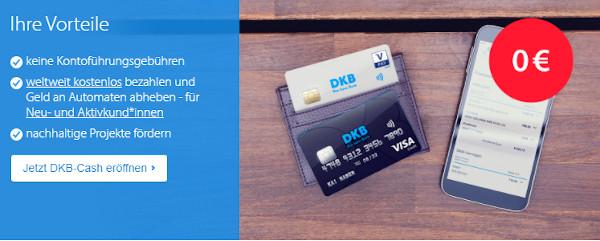 DKB Konto eröffnen – Konditionen