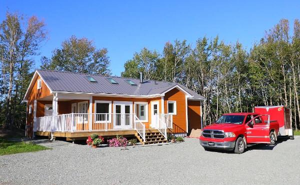 Musterhaus in Kanada