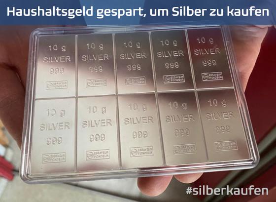 #silversqueeze #silberkaufen