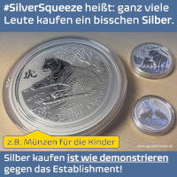 #SilverSqueeze