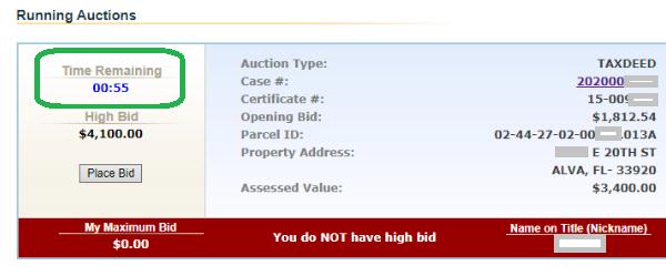 Tax Deed Auction Florida