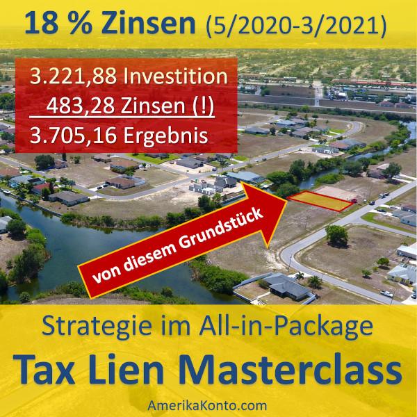 Tax Lien zurückgezahlt