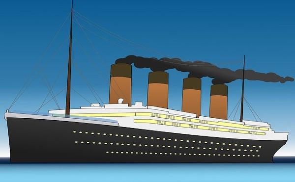 Titanic vor der Krise