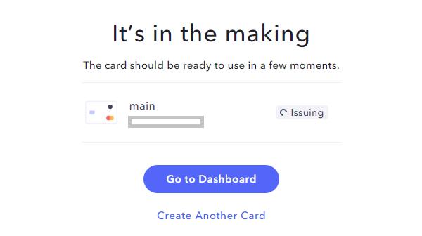 Erstellung einer US Kreditkarte