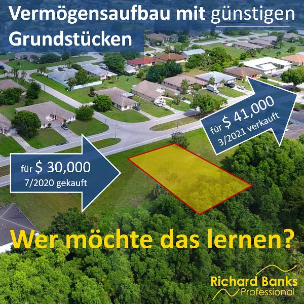 Vermögensaufbau mit günstigen Grundstücken