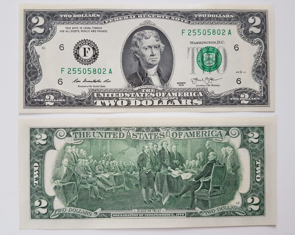 2 US-Dollar Note