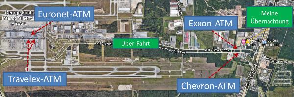 ATM am Houston Airport