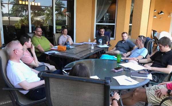 Unsere Aufsteiger beim Intensiv-Workshop in Cape Coral, Florida.