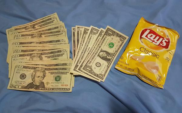 Dollar per Snack wechseln