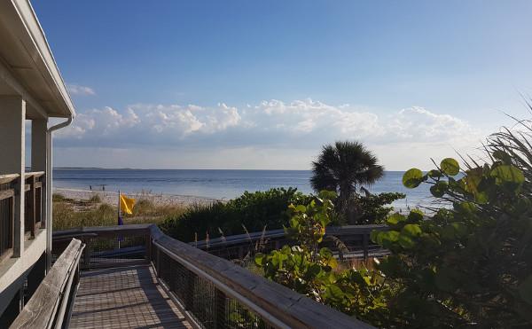 Strand am Mexikanischen Golf