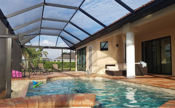 Haus mit Pool in Florida