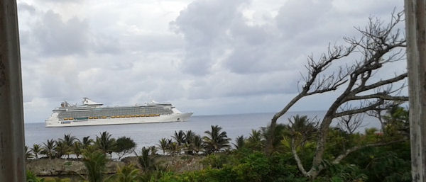 Kreuzfahrt Schiff Honduras