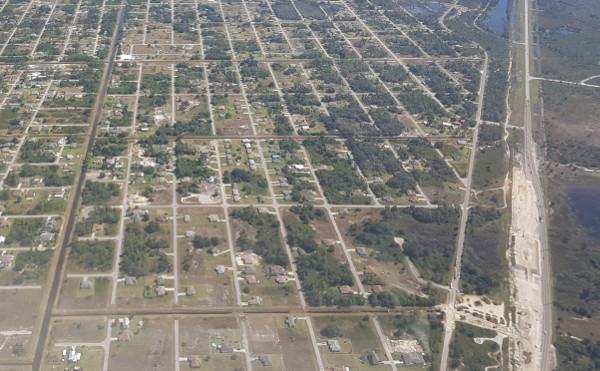 Immobilien-Recherche aus der Luft (Lagebild / Überblick)