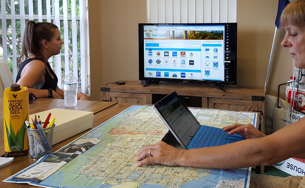 Real Estate: Professionelle Recherche nach Grundstücken bzw. Häusern.