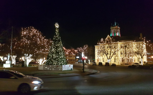 Weihnachten in New Braunfels
