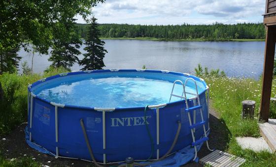 Pool auf Cape Breton