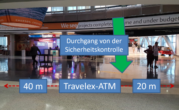 Travelex ATM Houston