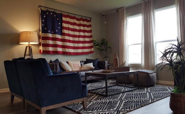 Wohnzimmer Amerika
