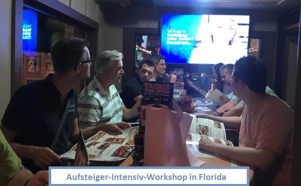Abendessen Aufsteiger in Florida