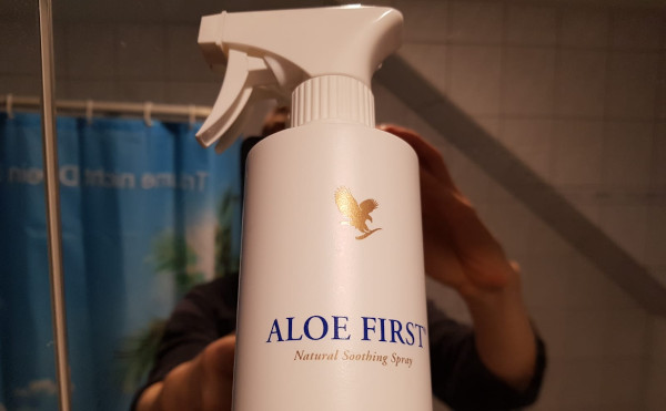 Aloe First am Morgen